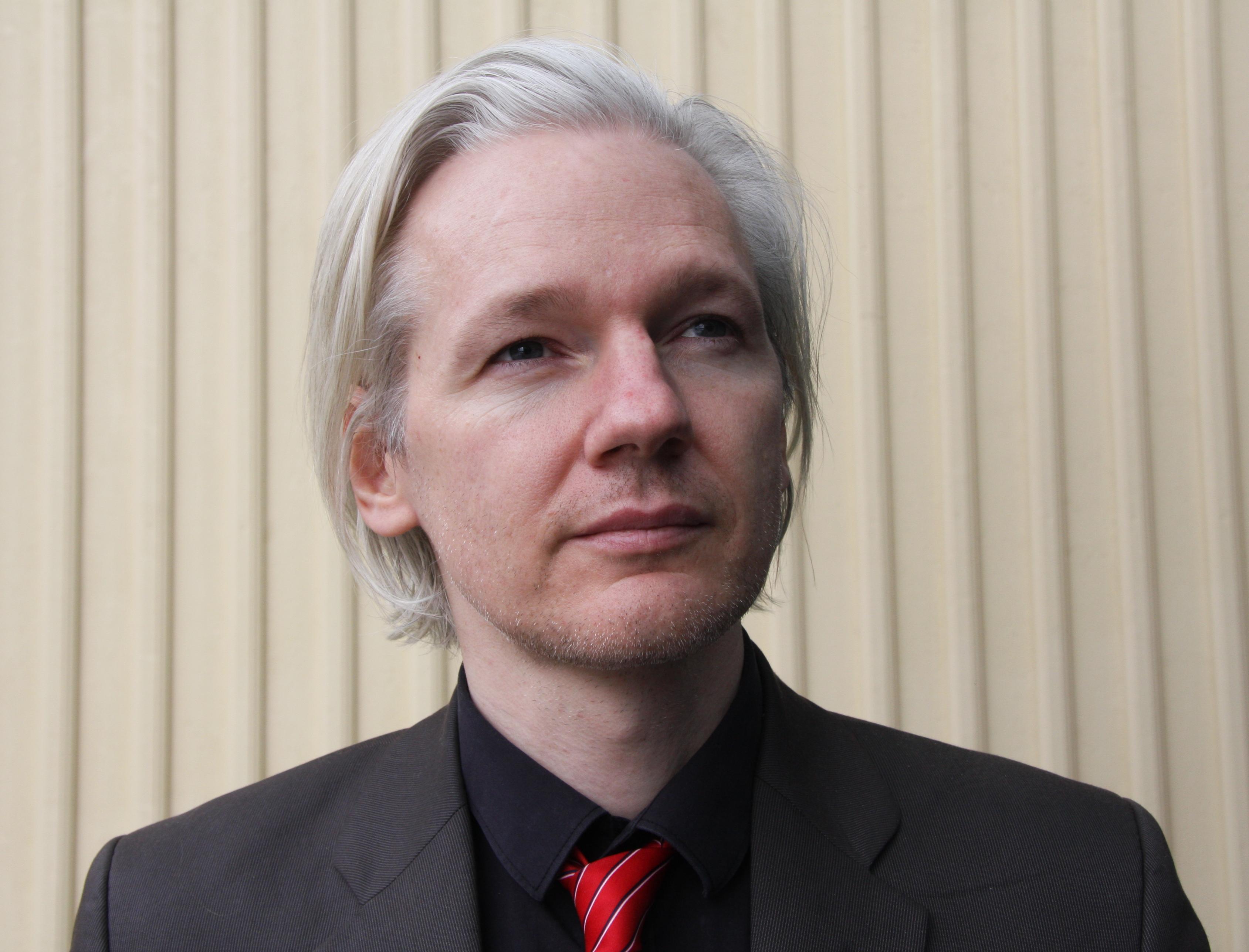 Julian Assange in Norwegen im März 2010, Foto: © Espen Moe, wikimedia,