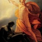 """Heinrich Fueger (1817): """"Prometheus bringt der Menschheit das Feuer"""""""