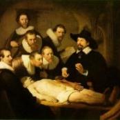 Rembrandt: Die Anatomie des Dr. Tulp, 1632, Öl auf Leinwand