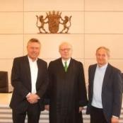 Dietmar Holzapfel, RA Dr.Johannes Wasmuth, Josef Sattler / Foto: Johann Türk