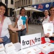Verteilung des GG in Köln, Foto: Ricarda Hinz