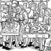 Hostienschändung 1492, Mittelalterliche Darstellung