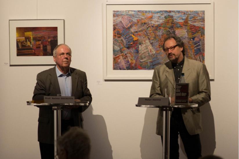 Reiner Diederich und Peter Menne