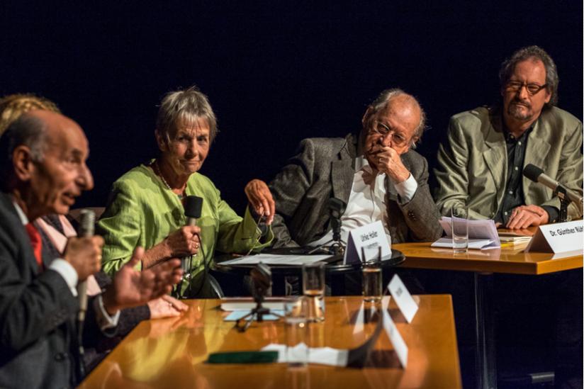 Hermann Alter, Ulrike Holler, Günther Rühle, Peter Menne