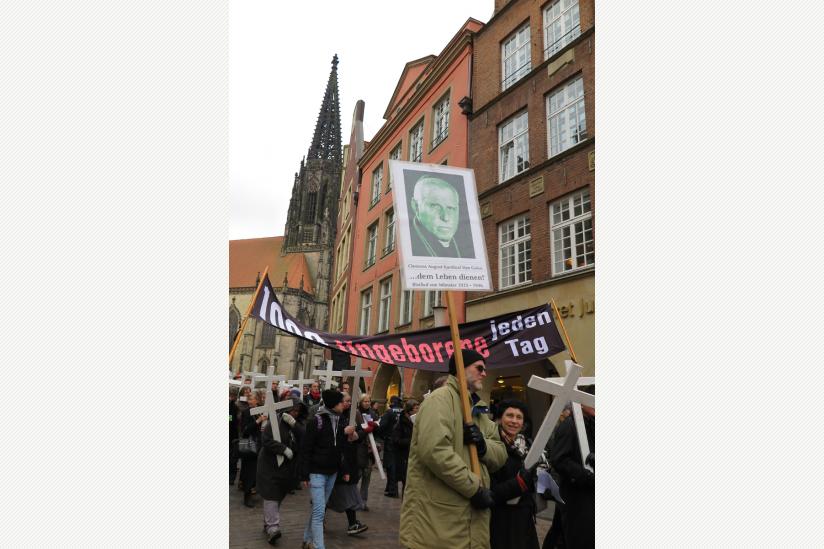 1000 Kreuze Marsch Münster 2016