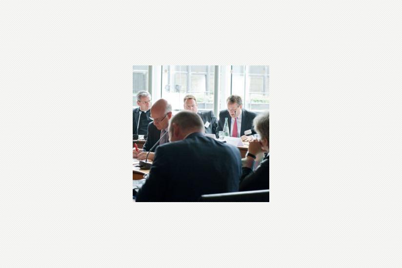 Prof. Dr. Gregor Thüsing im Forum 2 des Symposiums im Landtag NRW