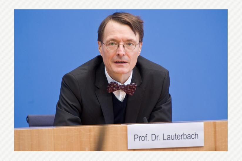 Prof. Dr. Karl Lauterbach, MdB (SPD)