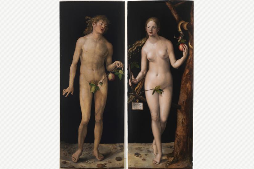 Albrecht Dürer: Adam und Eva (1507)