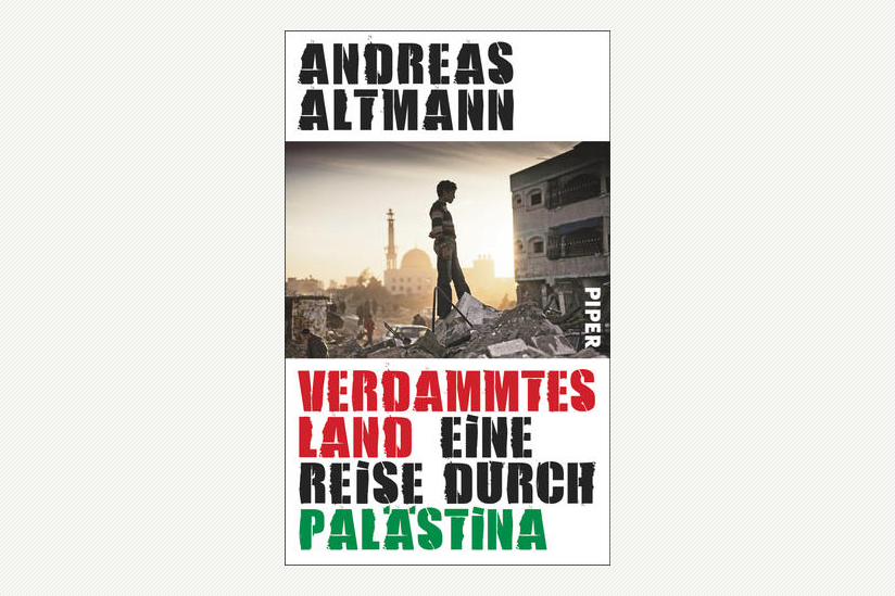 "Cover Andreas Altmann ""Verdammtes Land"""