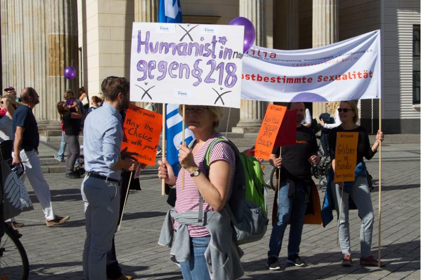 Frauenrechte müssen noch immer gegen Fundamentalisten verteidigt werden.