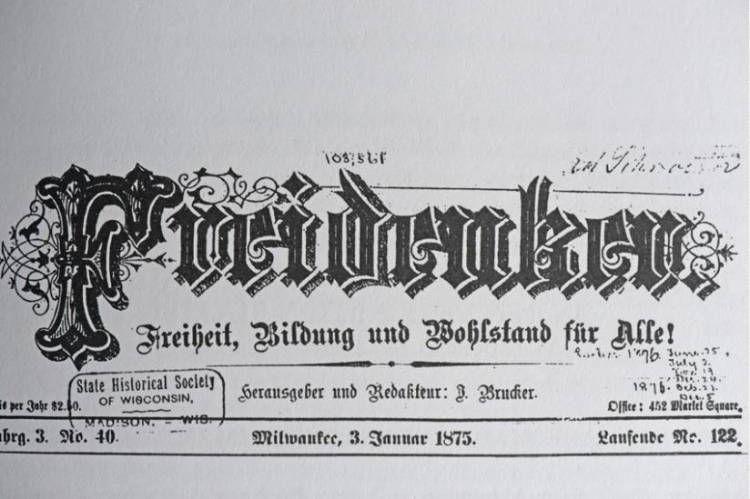 """Zeitschrift """"Freidenker"""""""