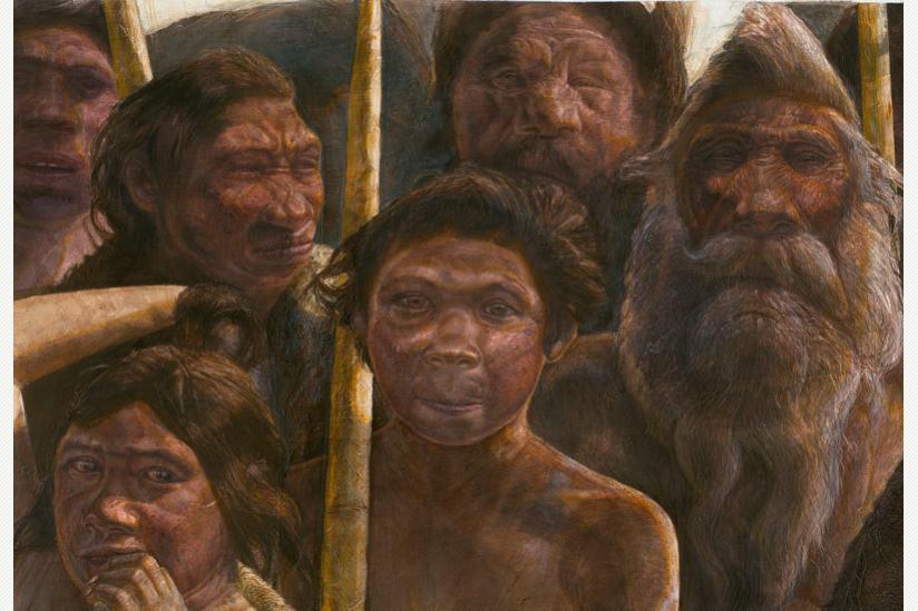 Die Homininen aus Sima de los Huesos lebten vor ungefähr 400.000 Jahren während des Mittleren Pleistozäns.