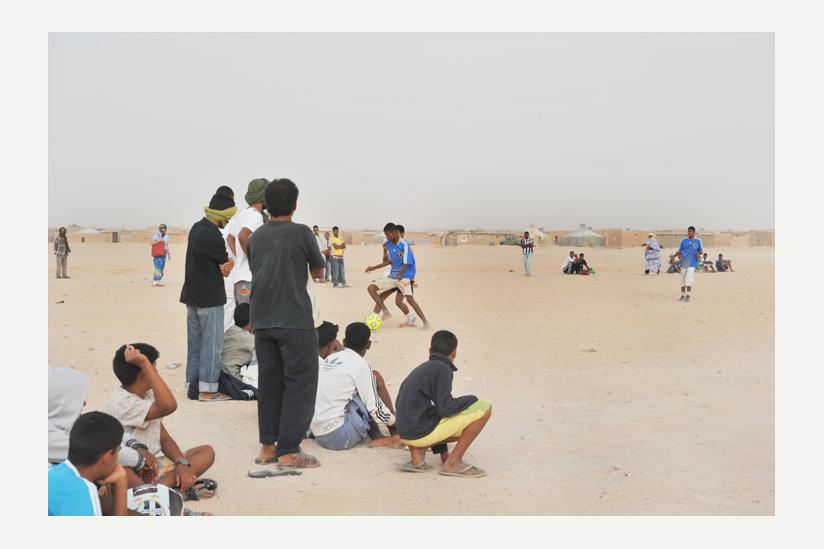 Saharauische Jugendliche in den Flüchtlngscamps ohne Hoffnung