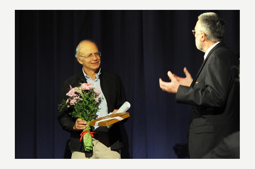 Der Preisträger Peter Singer