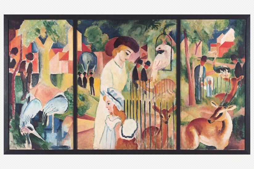 August Macke: Grosser Zoologischer Garten