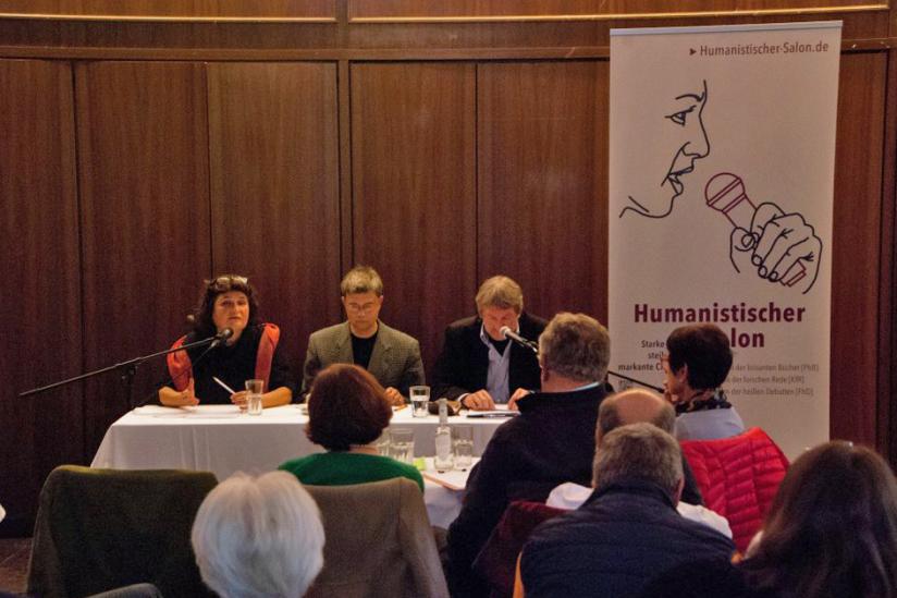 Johanna Haberer, Helmut Fink, Heinz-Werner Kubitza (v.l.n.r.)