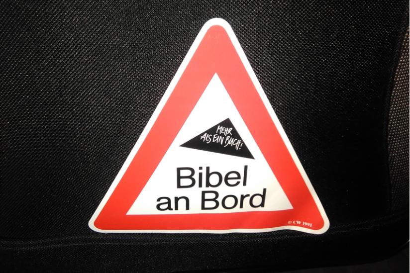 Bibel an Bord
