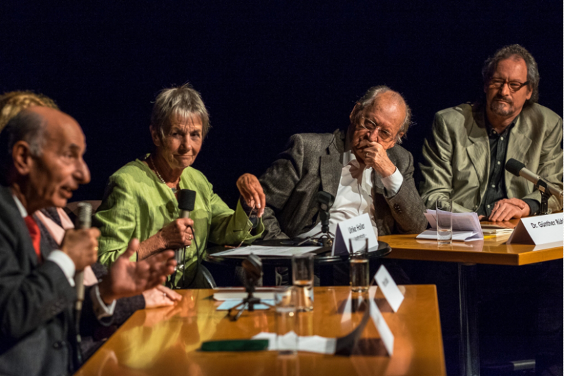 Hermann Alter, Ulrike Holler, Günther Rühle, Peter Menne