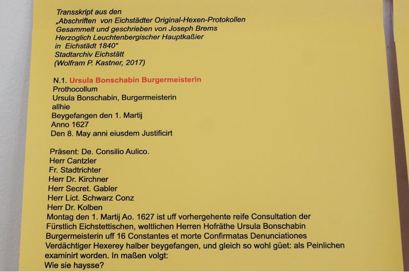 Tafel: Ursula Bonschafin