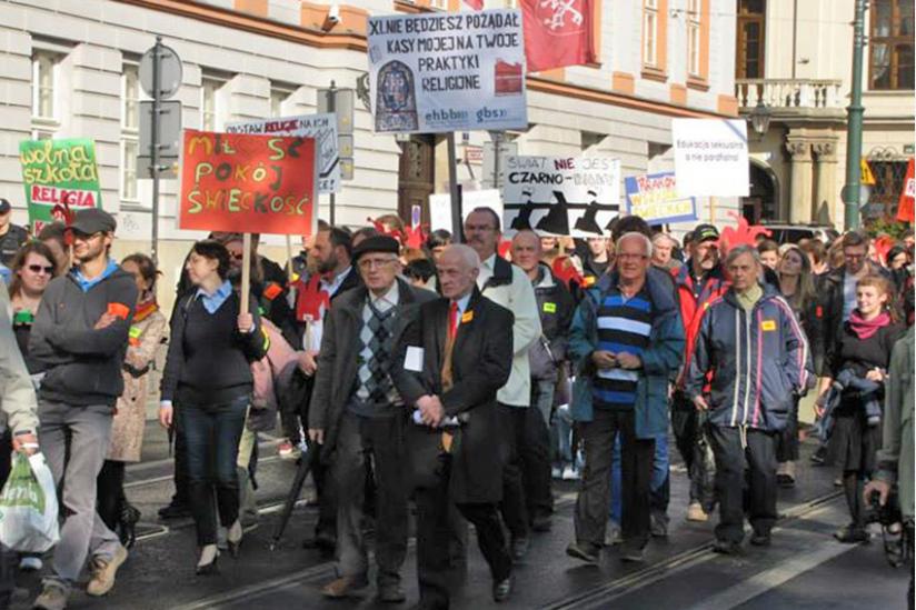 Marsch für den Laizismus