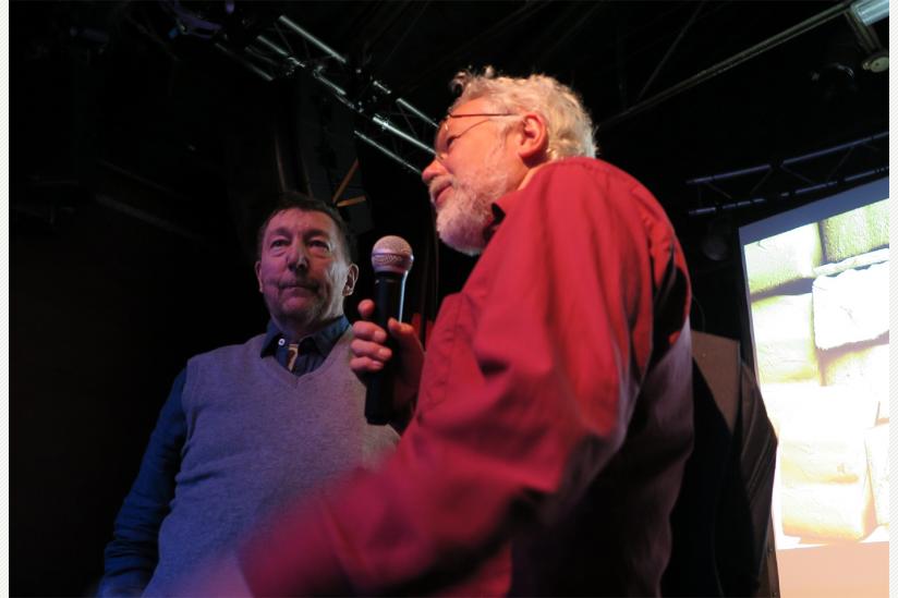Martin Budich und Dr. Rainer Vowe