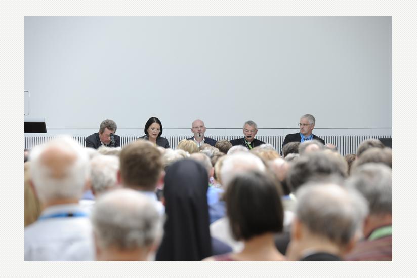 Podiumsdiskussion Brauchen Werte Religion