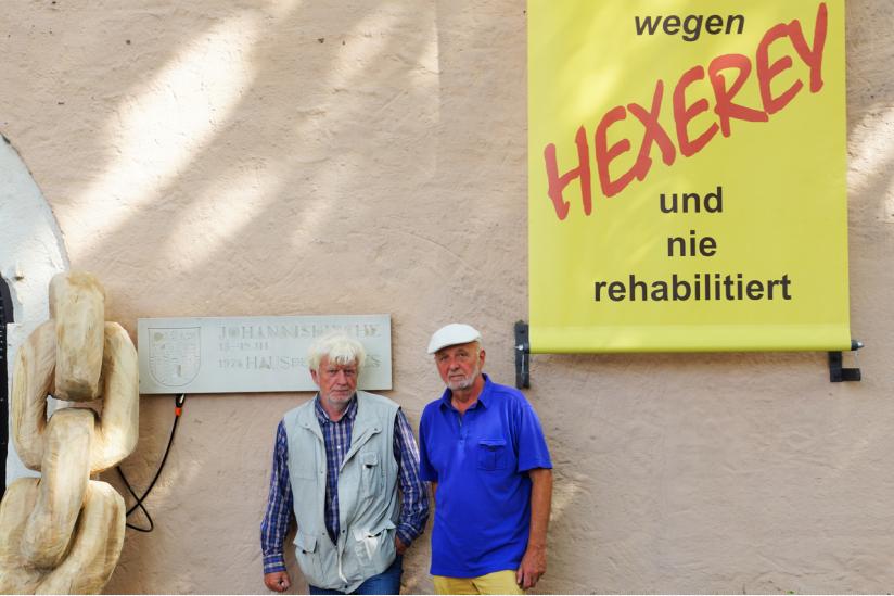 Wolfram P. Kastner und Claus-Peter Lieckfeld