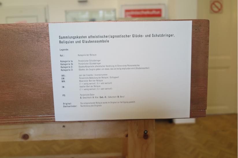 """Ausstellung: """"Woran glauben eigentlich Atheisten?"""""""