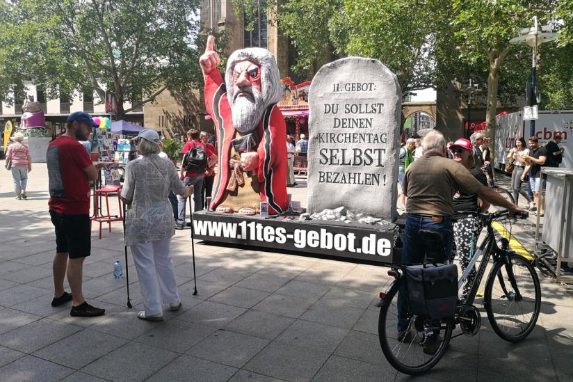 """Das """"Elfte Gebot"""" in Dortmund"""