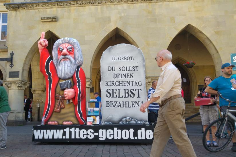 """Das """"11. Gebot"""" in Münster 2018"""
