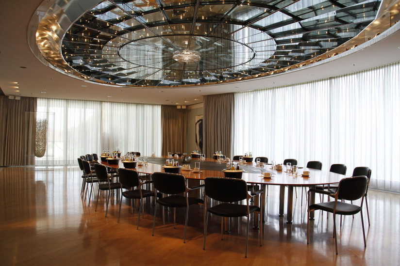 Kabinettsaal in der Bayerischen Staatskanzlei