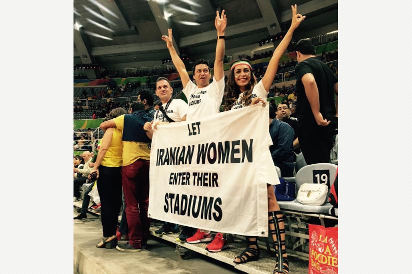 Let Iranian Women enter their stadiums