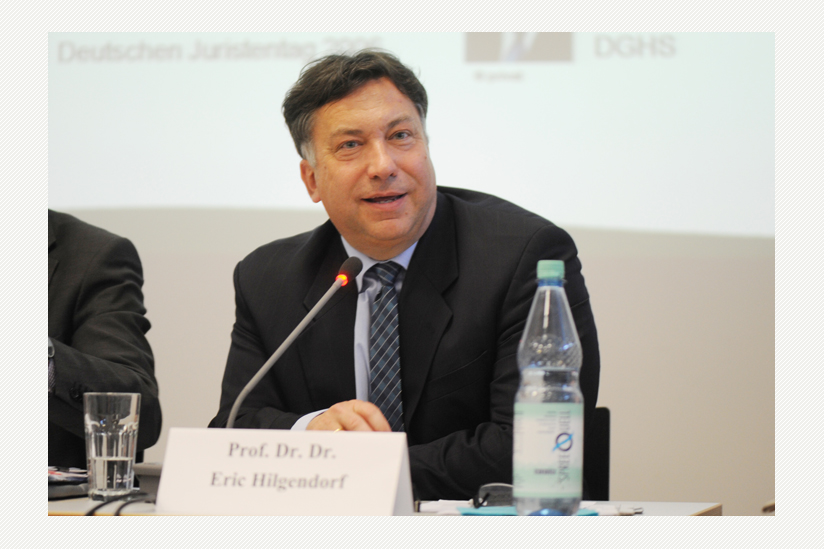 Prof. Dr. phil. Dr. jur. Eric Hilgendorf
