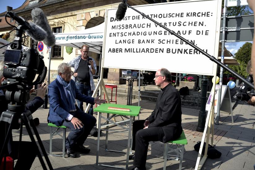 Matthias Katsch im Gespräch mit Stefan Ackermann