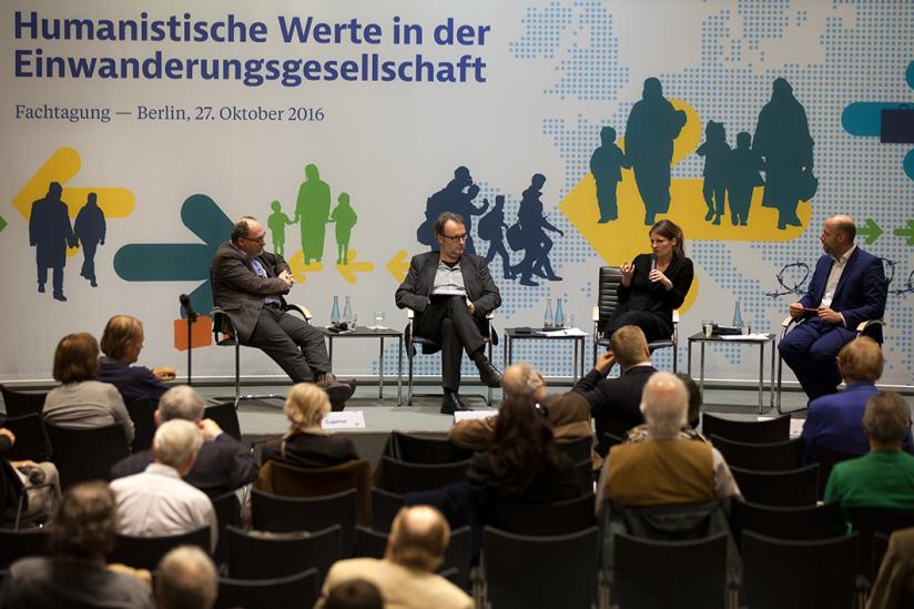 Dr. René Cuperus, Dr.Ralf Schöppner, Dr. Nicole Immler, Arne Lietz