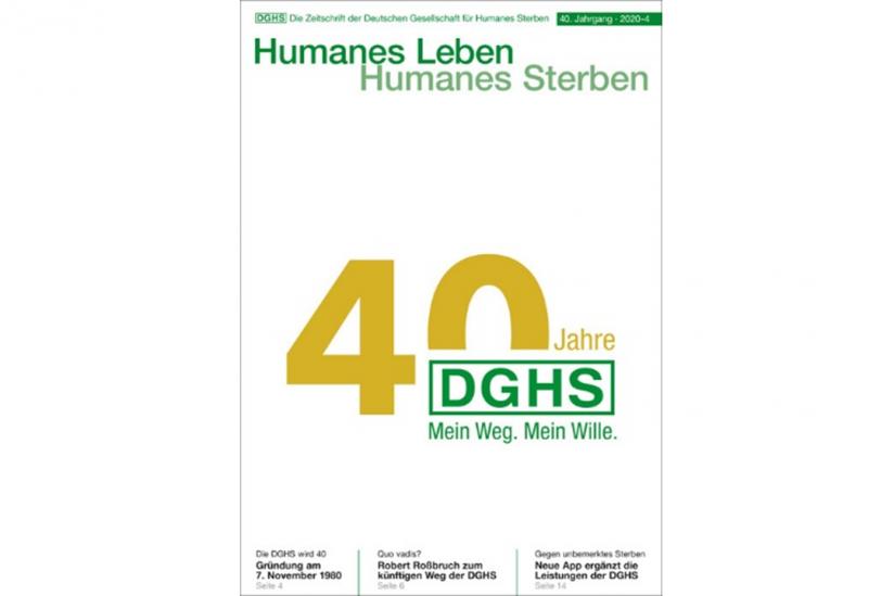 "Cover ""40 Jahre DGHS"""