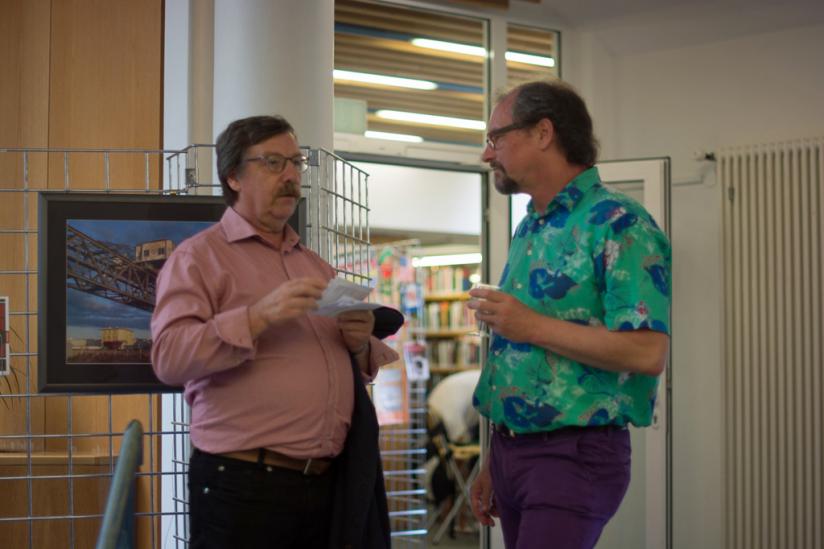 Werner Neumann (BUND) + Peter Menne