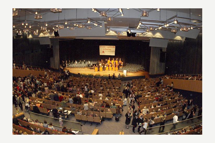 Jugendweihe im Congress Centrum Hamburg