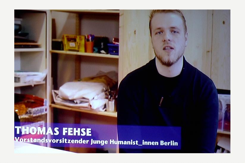 Thomas Fehse, JuHu-Vorstandsvorsitzende:  Erwachsen zu werden und mitmachen ...