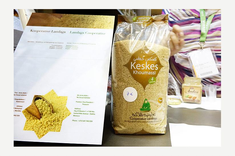 Cooperative Lamlaga, Dakhla bietet Couscous