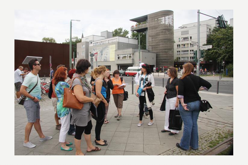 Das Ziel ist der Weg - Offene Jugendarbeit in kleinen Gruppen: Gedenkstätte Bernauer Strasse