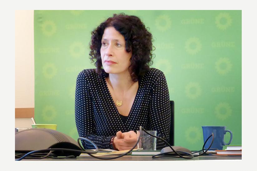Bettina Jarasch, Mitglied im Bundesvorstand, Vorsitzende des Landesverbandes Berlin von Bündnis 90/Die Grünen