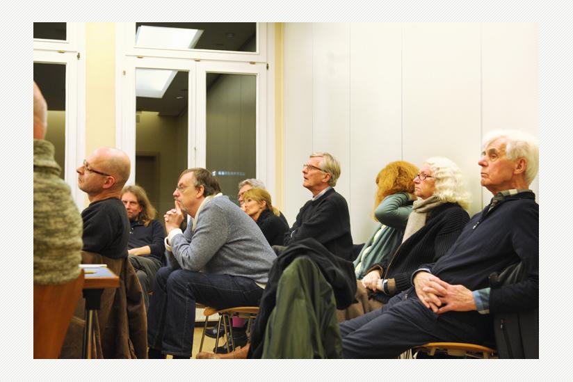 Öffentliche Diskussion mit vorwiegend säkularen Publikum