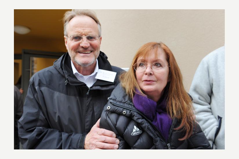 Dr. Bruno Osuch und Christiane Edler