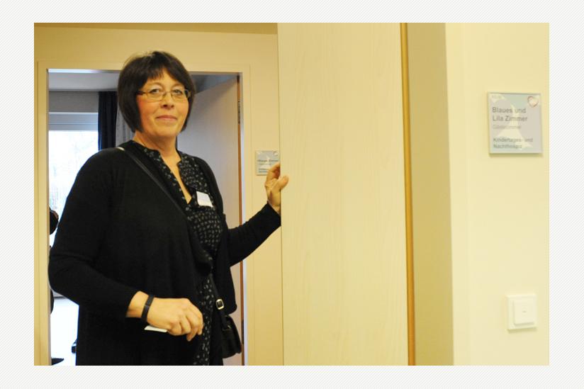 Corinna Ebadi - Leiterin des Pflegedienstes