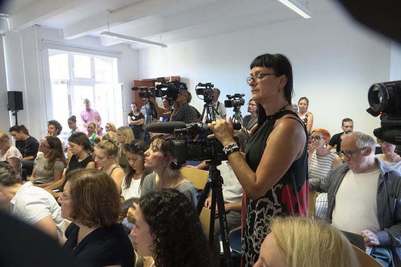 Pressekonferenz von Terre des Femmes am 23.08.2018 in Berlin.