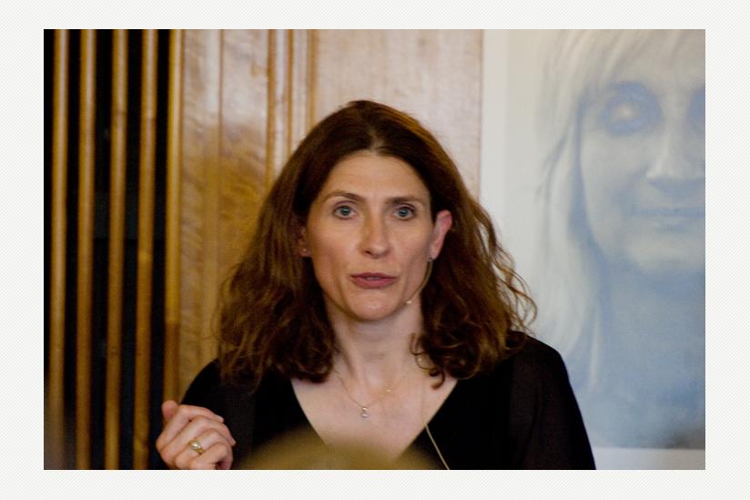 """Heike Haarhoff, Moderatorin """"Organisierte Suizidhilfe in Deutschland - Praxis, Probleme, Perspektiven"""""""