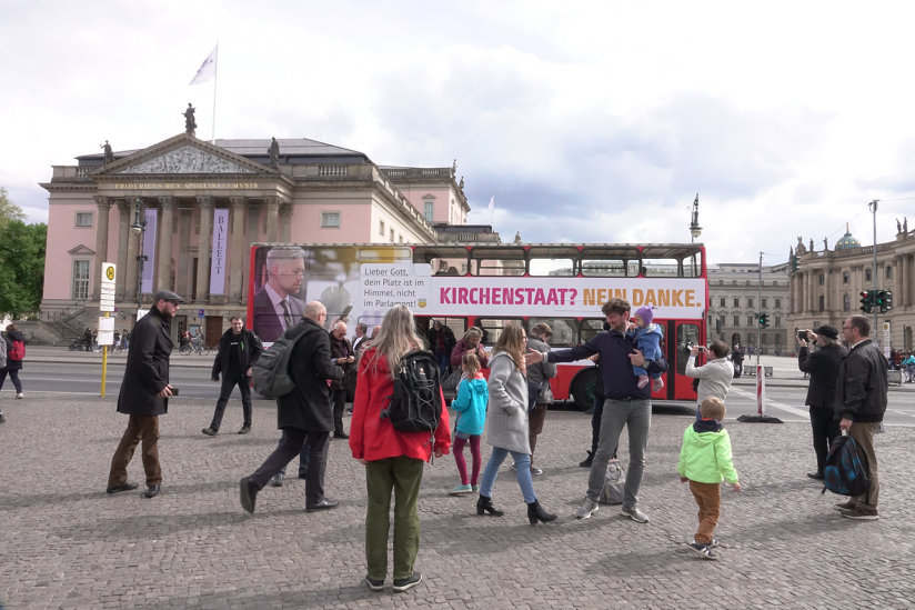 Der Bus in Berlin