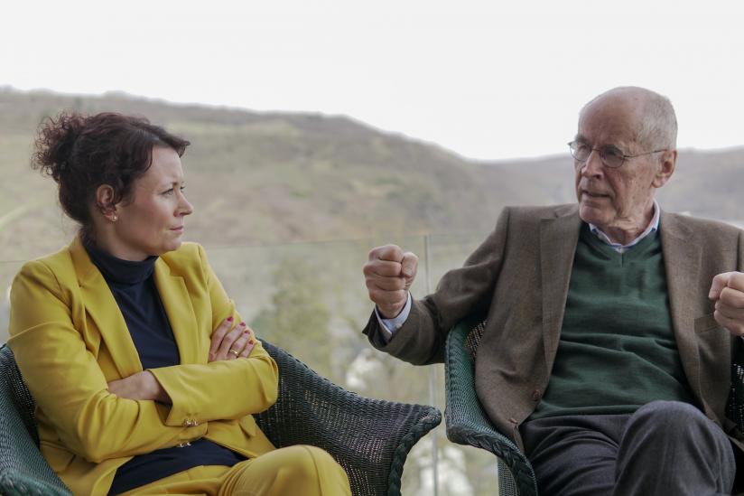 Jacqueline Neumann und Christian Pfeiffer