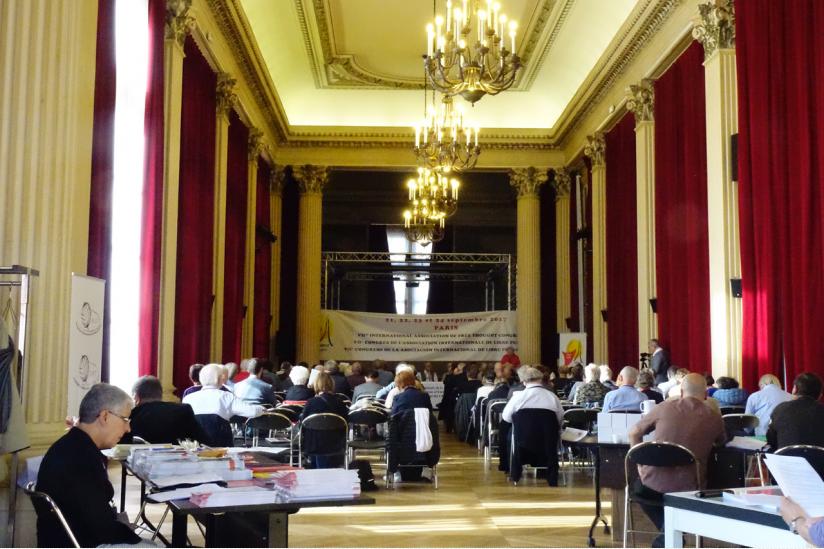 Konferenz am 2.Tag: Festsaal des Bürgermeisteramt im 10. Bezirk